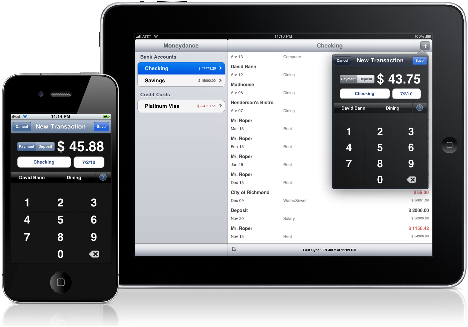 Moneydance® 2010 - Personal Finance Manager for Mac, Windows